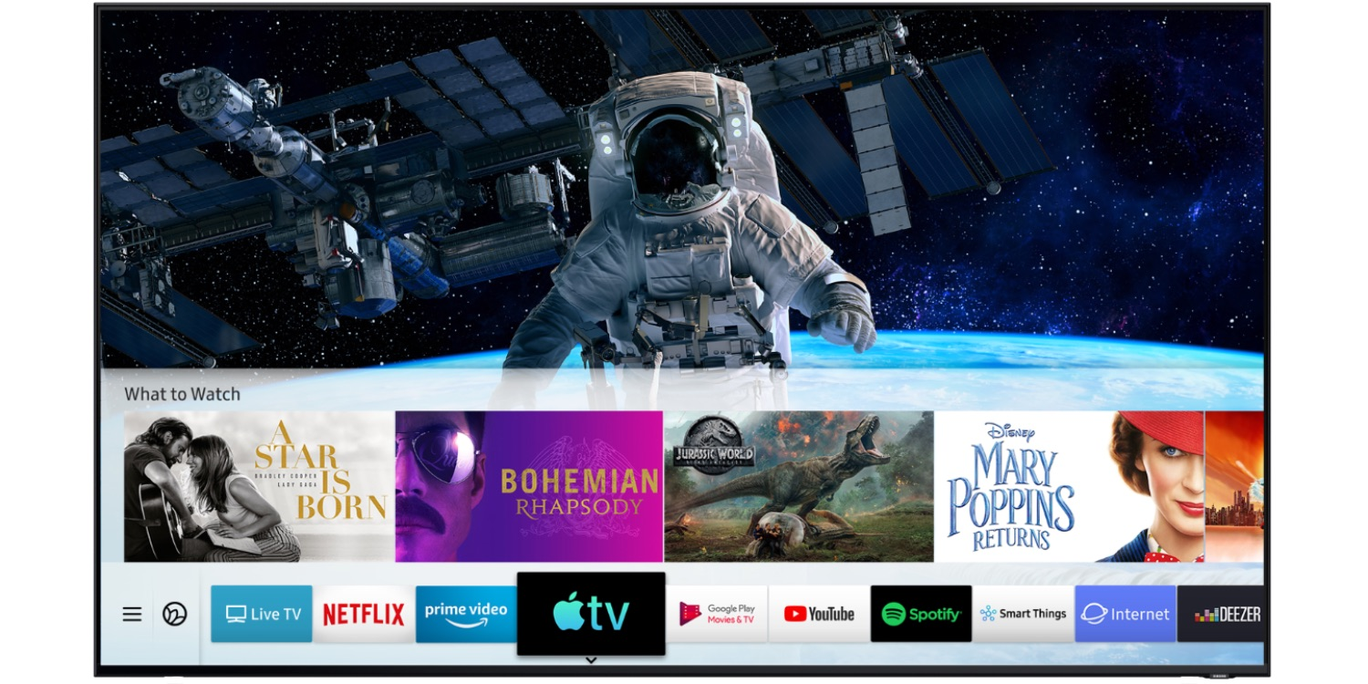 How to download airplay on samsung tv
